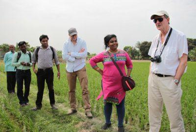 Stuart Tester, Chandrani Banerjee and Tim Neslen, Familia, February 2015