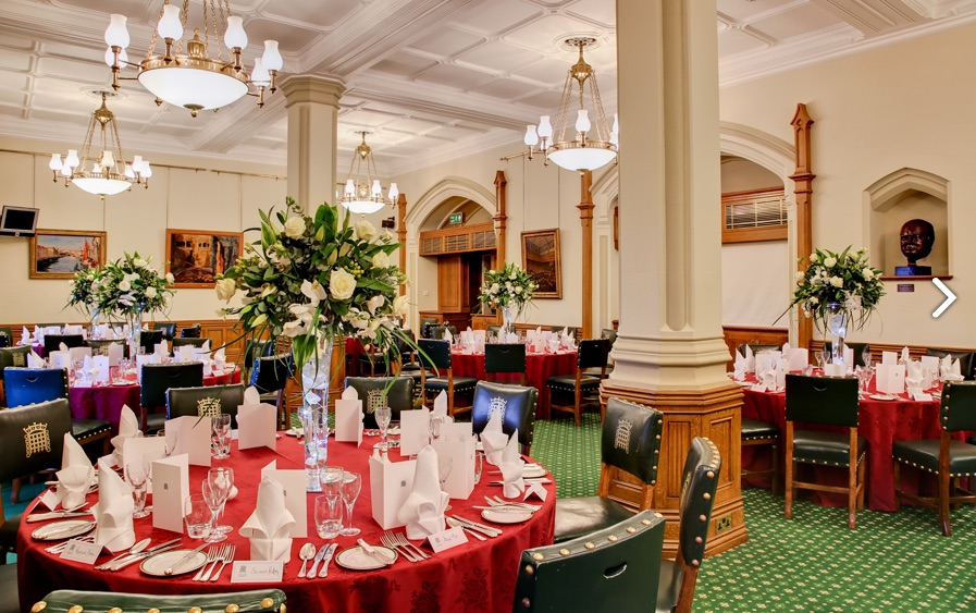 Dinner and auction at the House of Commons (by invitation only)