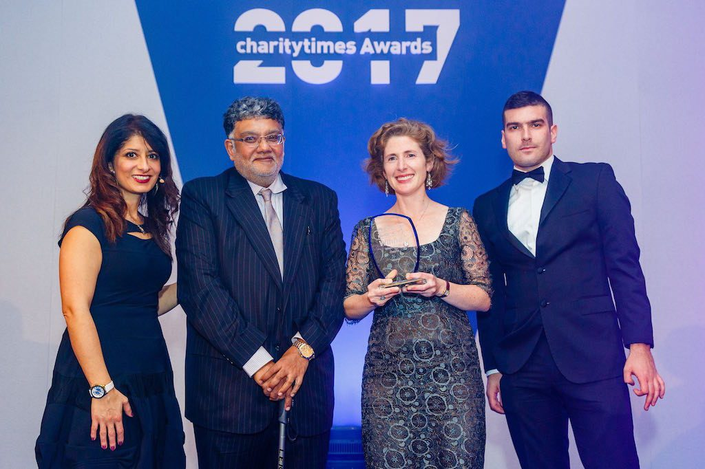 Shivia wins International Charity Award