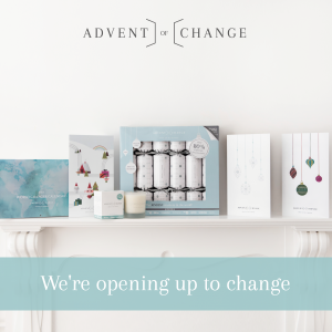Buy Advent of Change products to support Shivia